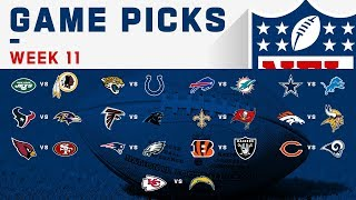 Week 11 Game Picks! | NFL 2019