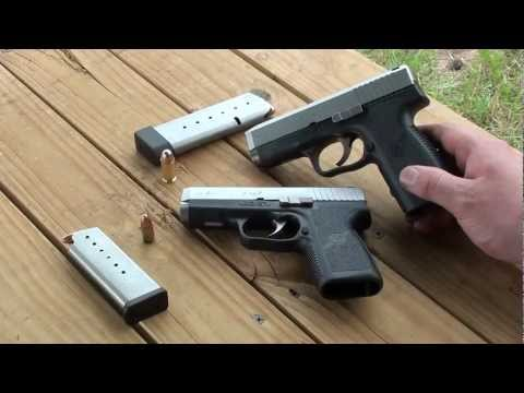 Kahr CW9 and CW45 Pistols