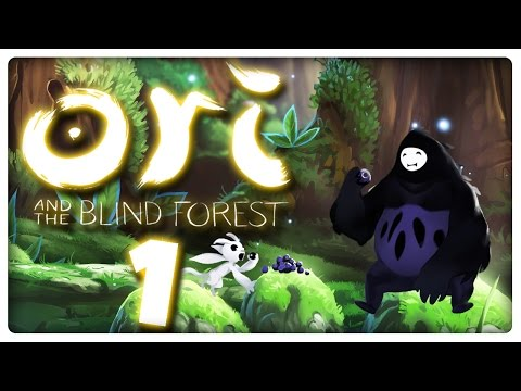 Let's Play ORI AND THE BLIND FOREST Part 1: Oris Mission im sterbenden Wald Nibel