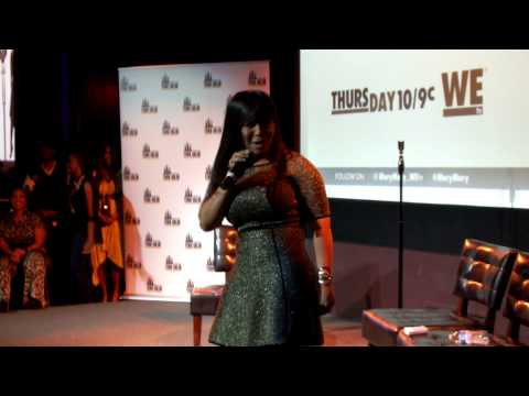 "Erica Campbell Previews ""I Luh God"" @ MaryMary S4 Premiere Event (NYC)"