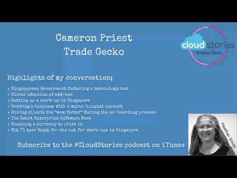 Ep.9 Cameron Priest – TradeGecko – Kiwi cloud inventory solution calling Singapore home