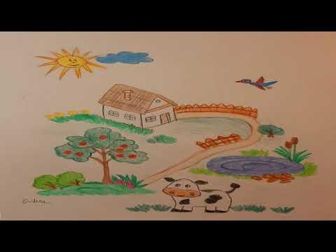Nemes Nagy Ágnes: Nyári rajz (gyerekvers)
