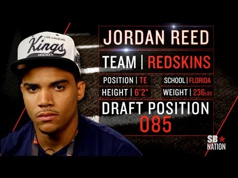Redskins Rookie Jordan Reed On Beyoncé, Rehabbing With Rgiii (2013 Nflpa Rookie Premiere) video