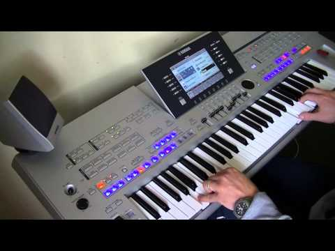 Theme From Titanic - Instrumental - Yamaha Tyros 4