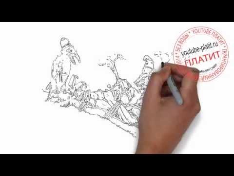 Видео как нарисовать полицейского карандашом поэтапно