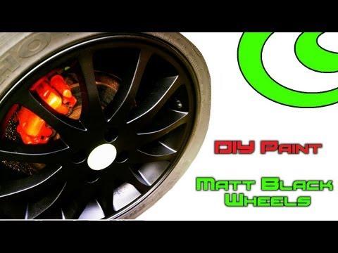 DIY Paint ? Respray of Car Alloy Wheels/Rims in Matt Black ?