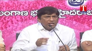 MP Vinod Kumar Press Meet | Telangana Bhavan | Hyderabad  live Telugu