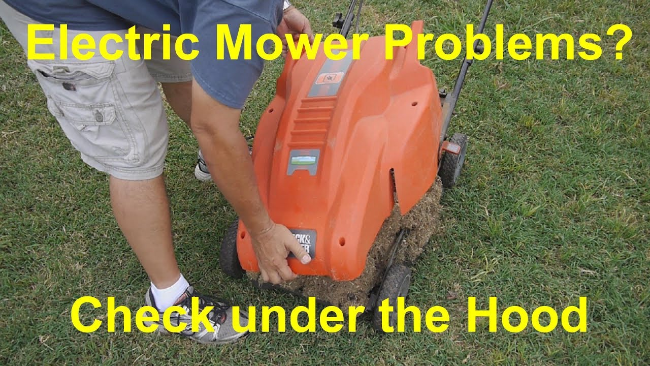 Electric Lawn Mower Motor Troubleshooting Black And Decker Mm850 Wiring Diagram Problems You