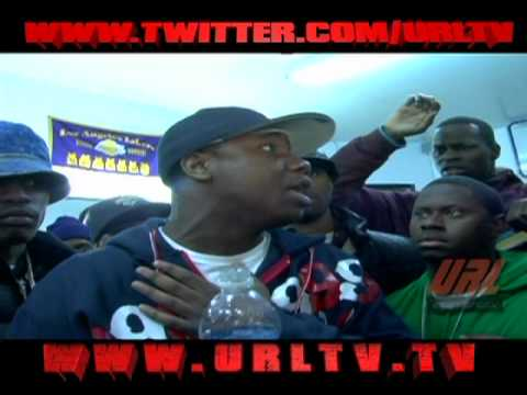 URL PRESENTS  MURDA MOOK VS SERIUS JONES  HQ [ FULL BATTLE] 