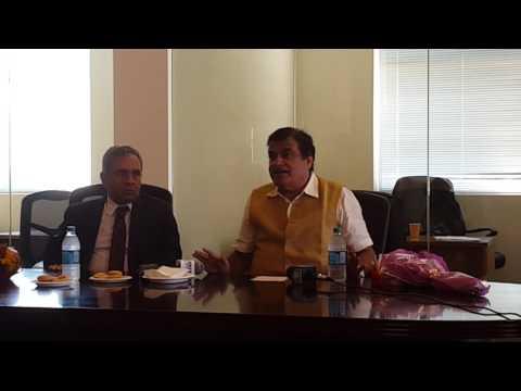 Nitin Gadkari ji - Press Conference (part 1)