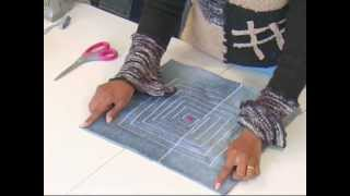 DIY home furnishing 4/4 (Recycled Denims)