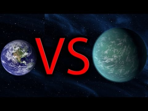 Earth vs Kepler 22b Funny Comparison