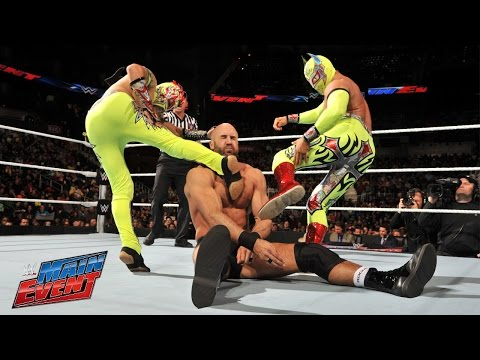 Lucha Dragons Vs. Tyson Kidd & Cesaro: Wwe Main Event, February 28, 2015 video