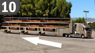 10 Most Luxurious Celebrity Motorhomes