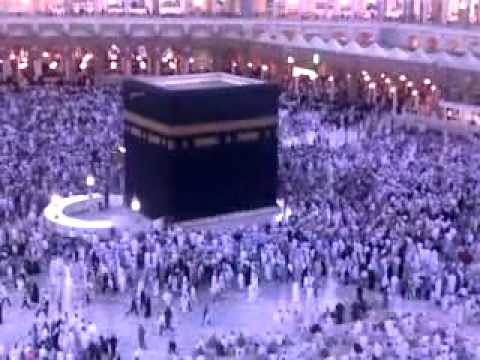 FAJAR AZAAN AT HARAM SHARIF 22-06-2011