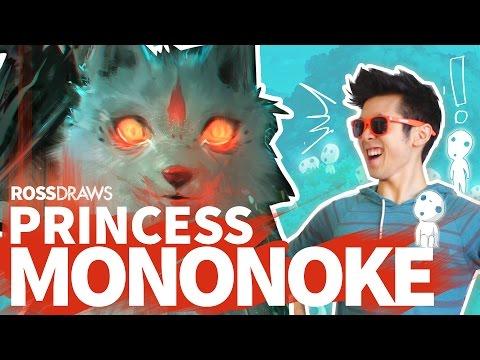 RossDraws: Princess Mononoke!!
