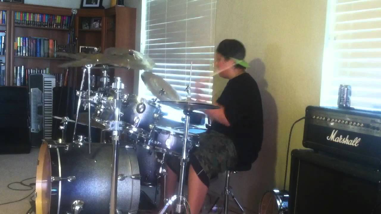 5fdp coming down drum cover youtube