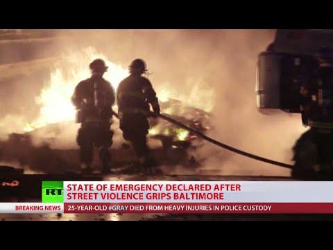 National Guard deployed in Baltimore Alexey Yaroshevsky reports from scene