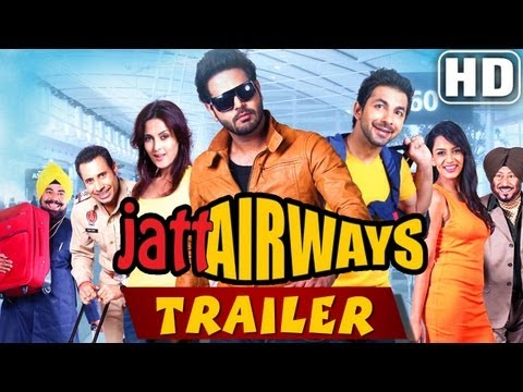 Jatt Airways Official Trailer 2013 - Alfaaz Tulip Joshi Padam Bhola video