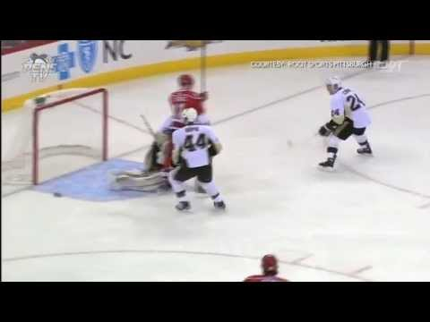 Pittsburgh Penguins @ Carolina Hurricanes Highlights 4/9/13