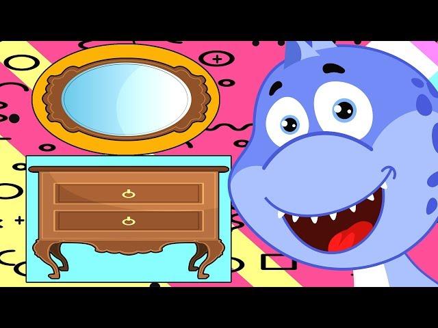 Динозаврик Дэнни - Учим прямоугольник и овал - серия 36 - Мультфильм для детей