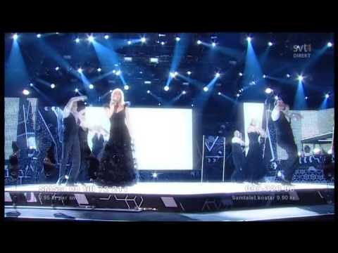 Melodifestivalen 2009 Malena Ernman - La Voix