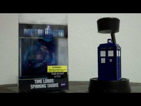 Doctor Who Time Lords Spinning Tardis Review