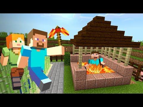 СКИНУЛ ГРИФЕРА в БЕЗДОННЫЙ КОЛОДЕЦ с ЛАВОЙ в МАЙНКРАФТ ВЫЖИВАНИЕ!! (Minecraft #9)