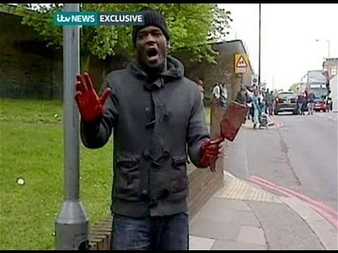 London TERROR ATTACKED: British Soldier BEHEADED by two Islamic TERROR...