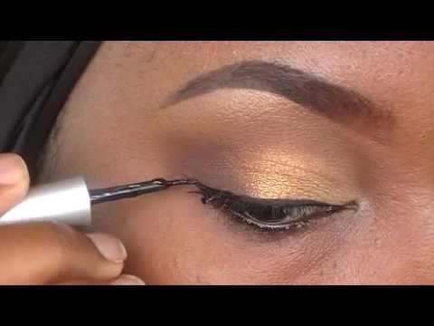 How to apply liquid eyeliner│Tamekans