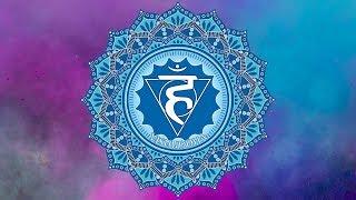 THROAT CHAKRA HEALING MEDITATION MUSIC | Unlock Inner Truth | Open Vishuddha | Positive Energy Vibes