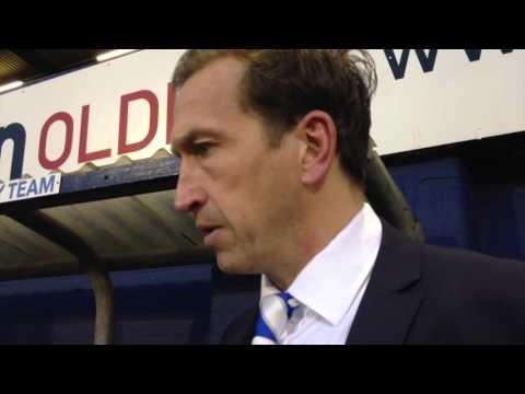 Justin Edinburgh post-Oldham Athletic