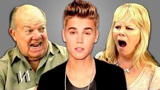 Реакция пенсионеров на ДЖАСТИНА БИБЕРА | Старики  слушают музыку Justin Bieber [ИндивИдуалист]