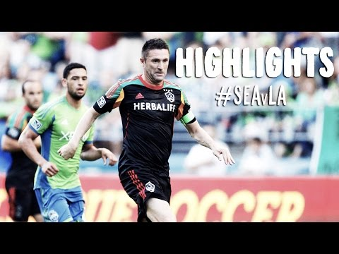 HIGHLIGHTS: Seattle Sounders vs LA Galaxy   July 28, 2014
