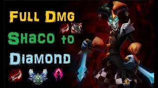 Shaco Smurf to Diamond - Platin 1 last Promo-Game [League of Legends] Infernal Shaco