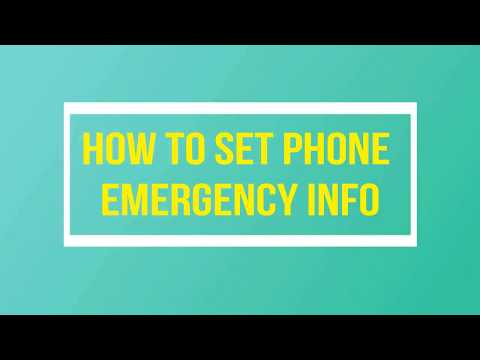 How to Add Emergency Info on Android | Android Tips and Tricks