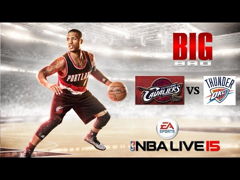 NBA Live 15: Cleveland Cavaliers Vs. Oklahoma City Thunder Finals