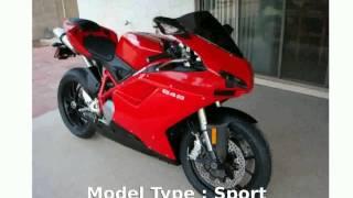 2009 Ducati 848 Base  motorbike superbike