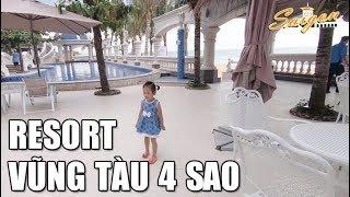 Resort 4 Sao Vũng Tàu với Khu Vui Chơi Trẻ Em và Hồ Bơi khổng lồ tuyệt đẹp