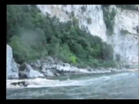 River Ardeche Canoe Trip part 1