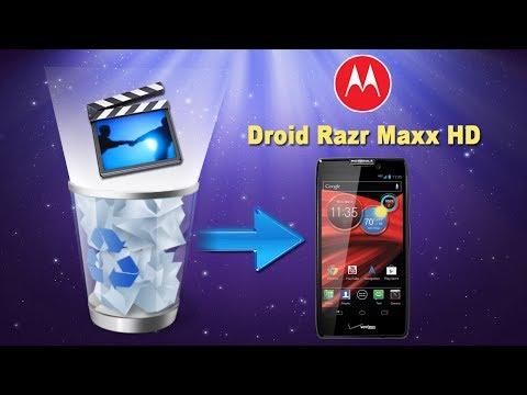 Motorola razr photo recovery
