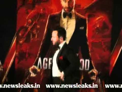SAIF'S HOME PRODUCTION 'AGENT VINOD'S, FIRST LOOK UNVEILED.flv