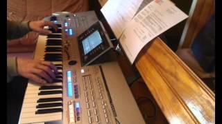 Killing fields - Etude - Mike Oldfield - in live on Tyros 4