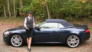 2011 Jaguar XK Convertible Test Drive & Car Review - RoadflyTV