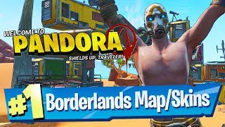 Fortnite added a Borderlands Pandora Area + Claptrap?! (Rift Zone Gameplay)