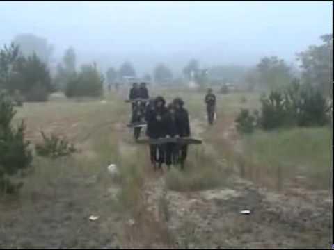 Обучение украинских танкистов.
