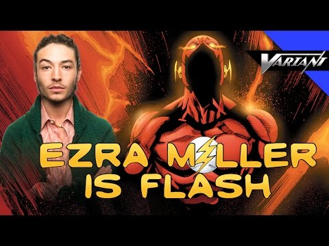 One Shot: Ezra Miller Is Flash & DC Movie Lineup!