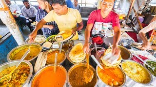 INDIAN STREET FOOD of YOUR DREAMS in Kolkata, India | ENTER CURRY HEAVEN + BEST STREET FOOD in India