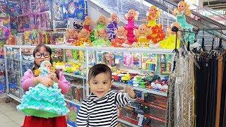 Trò Chơi Đi Mua Búp Bê Giáng Sinh ❤ ChiChi ToysReview TV ❤ Đồ Chơi Trẻ Em