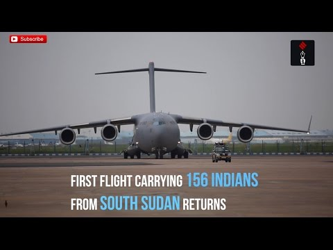 Op Sankat Mochan: Video Of Indian Nationals Evacuated From South Sudan Arriving In Delhi